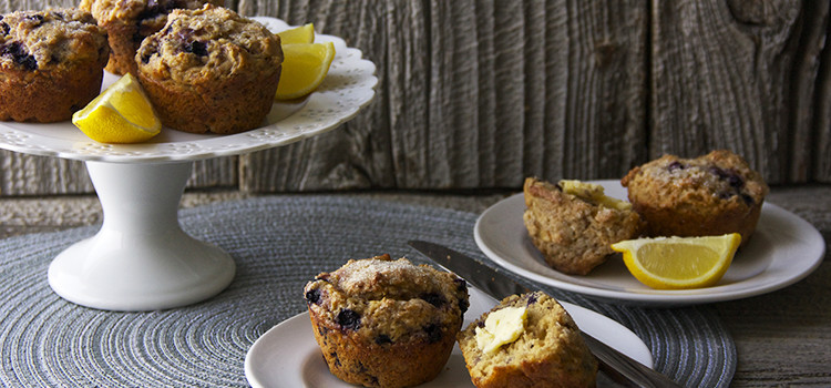 Blueberry Lemon Muffins by The Simple Foodie
