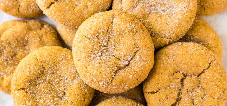 Pumpkin Snickerdoodles from Well Plated
