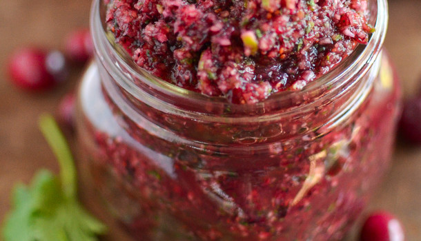 Cranberry Salsa by Simply Whisked