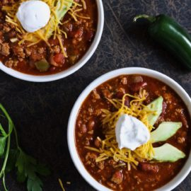 Turkey Chili from Honey & Spiced