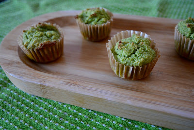 Banana Spinach Muffins from Yummy Sprout