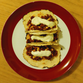Soy Chorizo Tacos from Eat, Drink, Be Healthy!