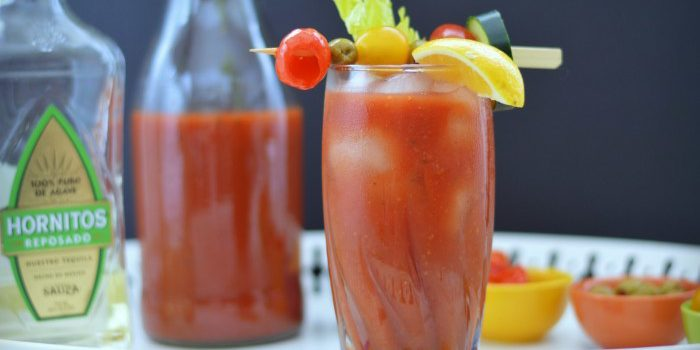 Homemade Bloody Mary Mix from Five Sense Palate