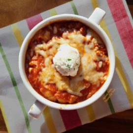 Baked Lasagna Bowls from Flipped Out Food