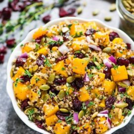 Butternut Squash Quinoa Salad from Well Plated