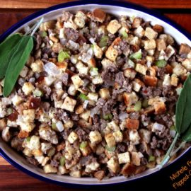Easy Sausage Stuffing from Flipped Out Food